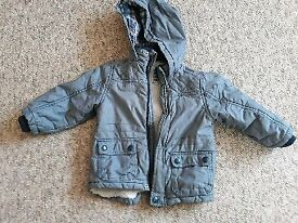 Boy winter jacket 12-18 months