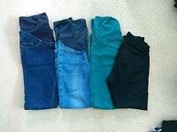 15 fab maternity cloths 8-10/ jeans, dresses, tops, night dress and belt