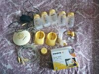 Madela Breast Pump including Extras
