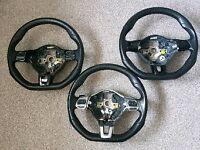 Vw Golf Scirocco GTI GTD R Steering Wheel Multi function MFSW Flat bottom Dsg Paddles