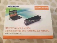 TV and FM Radio Tuner for PC