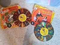 VERY RARE Children's Fairy Tales 2 Coloured 78 Vinyls