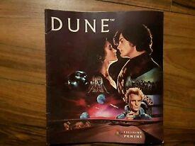 Dune Panini sticker Album 1984