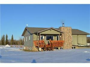 FULLY DEVELOPED HOME - 20.5 ACRES JUST OVER THE BC/AB BORDER