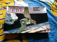 Vintage Star Wars Airfix Model Imperial Shuttle Tydirium