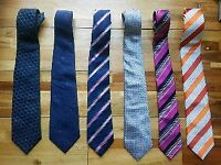 Mens ties 6 excellent quality