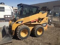 F550 dump truck, bobcat and operator for hire