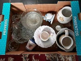 Free selection of glass,ceramics etc box2