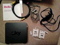 Sky Broadband Hub SR102-Z Wireless Router WIFI 15462
