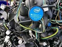 Stock lot 30 CPU Pc Cooling fans