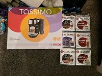 *NEW * Tassimo caddy pod coffee machine and pod selection