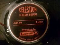 Celestion 80w Speakers x 2
