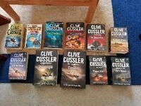 Clive Cussler Action Novels