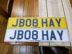 JB08HAY CHERISHED PRIVATE REGISTRATION