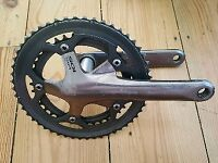 For sale is a Shimano 105 double crankset.