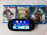PS Vita by playstation & 3 games