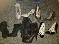 Ladies shoes boots size 4 5