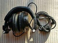Audio Technica ath m50x monitor headphones