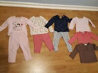 9-12 month old girls winter clothes