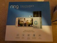 Brand New- Ring Video Doorbell 2 with Chime Pro and Battery Pack