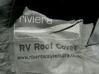 Caravan or RV cover