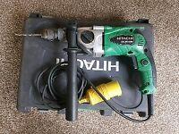 Hitachi two speed hammer drill 110v (dewalt makita Milwaukee Bosch ryobi hilti)