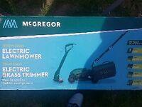 McGregor 1200w lawnmower New in box