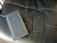 Apple iPhone 7 plus 32gb matte black unlocked apple warranty