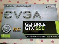 EVGA GeForce GTX 950 SC - 2GB DDR5