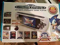 Sega mega drive portable with 80 games