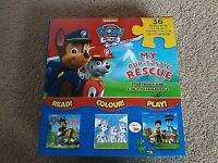 Paw Patrol Puzzle and Storybook set