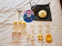 Medela Swing Breast Pump & Extras