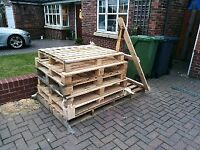 6 pallets - free - various sizes