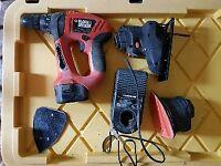 Black and Decker Quattro drill/sander/saw