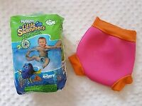 Water Babies nappy plus Huggies swim pants