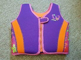 Zoggs Girls Swim Vest Age 4-5
