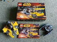 Lego Star Wars - Jedi Starfighter and Vulture Droid