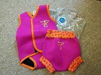 Splash About Baby Vest and Happy Nappy Swim Set