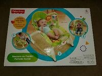 FISHER PRICE NEWBORN TO TODDLER PORTABLE ROCKER SEAT / CHAIR (BRAND NEW)