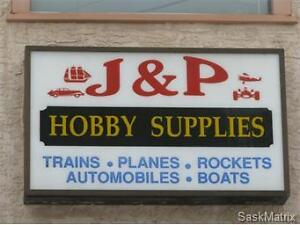 Successful Hobbie Supplies Store For Sale!
