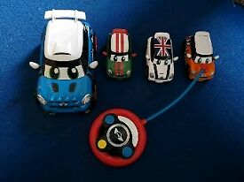 Go Mini Crew Set and remote control obe