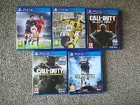 PlayStation 4 and playstation 3 games
