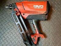 Hilti nail gun Hilti GX 90-wf Nail Gun Palsoe