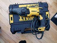 Dewalt sds three mode hammer drill 240v