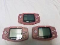 Pink Nintendo GameBoy Advance Excellent Condition