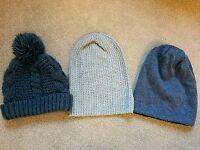 3 Hats / beanies
