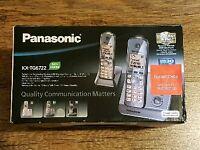 Panasonic KX-TG6722 twin phone with answer machine