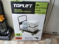 Brand New Top Lift 300 kg Heavy Duty Platform Folding Trolley