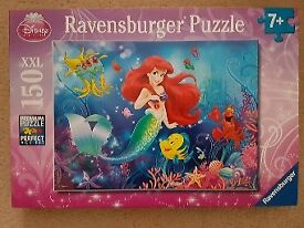 150 piece Disney Little Mermaid/Ariel Ravensberger jigsaw **great xmas stocking filler**