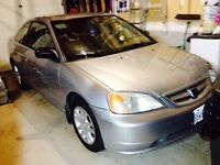 2002 Honda Civic Lx coupe manual for sale